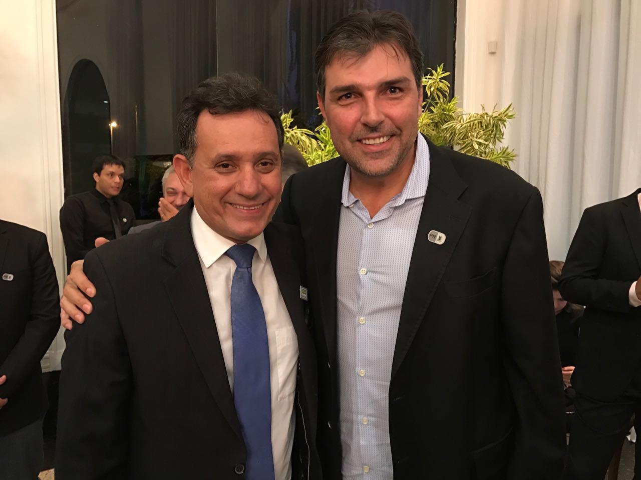 Temer ressalta força da FPA na posse de Nilson Leitão